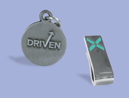 Silver Manager Charm